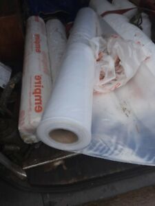 Roll Of heavy duty Builders Asbestos  Polythene 4m By 15m