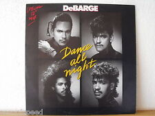 "★★ 12"" Maxi - DeBARGE - Dance All Night (Special 12"" Mix) - 1987"