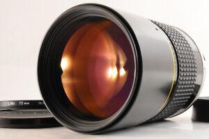 【MINT】NIKON AIS NIKKOR 180mm F/2.8 1:2.8 ED MF Telephoto Lens +72mm Filter JAPAN