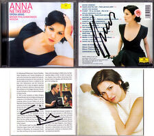 Anna NETREBKO & NOSEDA Signed OPERA ARIA Mozart Bellini Dvorak CD Elina GARANCA