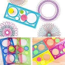 Spirograph geometrische Lineal Schablone Spiral Kunst Spielzeug Schreibwaren
