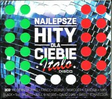 Najlepsze Hity Dla Ciebie - Italo Disco  3CD (Sealed/Folia)