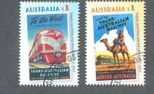 Australia-Trans Australian Railway mfu/cto-2017 set