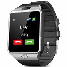 Unlocked All in 1 Bluetooth Smartwatch Compatible with HTC U12 Plus, U11 Life