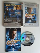 James Bond 007 Nightfire PS2 PlayStation 2 (Disc in great condition)
