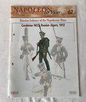 CARABINIER NCO RUSSIAN JAGERS 1812 Napoleon At War Del Prado Magazine #62 ONLY