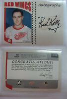 2004-05 ITG Franchise A-RK Red Kelly autograph non SP rare auto HOT red wings