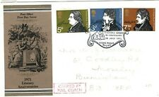 GB First Day Cover Bucks Thomas Gray *CARRIED BY MAIL COACH*Scarce FDC 1971 52.1