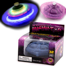 ALIEN UFO LIGHT UP INFINITY SPINNING TOP BOYS GIRL TOY CHRISTMAS STOCKING FILLER