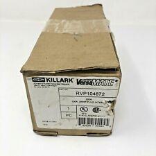 New Hubbell Killark Rvp104872 Versamate 100a 3w 4p Plug Interior