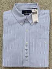 NWT Polo Ralph Lauren Mens Pocket Buttondown Shirt Short Sleeve Pony S M L XL