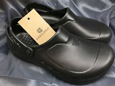 Shoes For Crews Clogs Unisex Women 8 Men 6 Zinc 60301 Wet Work Slip Resistant
