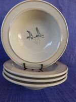 Rare Homer Laughlin K-83 Pacific Flyway CEREAL BOWL 1 of 4 available Duck, Bird