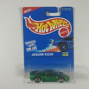 Hot Wheels Early-Mid 1990s Mainline #203 Jaguar XJ220 Mtflk Green w/ UHs