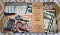 Waddingtons Business Game Mining Game Complete Vintage 1976