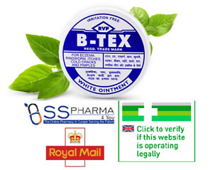 Btex Oinment For Eczema,Itches,Cold cracks,Pimples