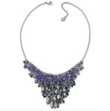 AUTHENTIC SWAROVSKI SWAN NECKLACE. PEACOCK NECKLACE. NEW IN BOX.