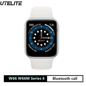 W66M Smart Watch Series 6 1.75inch Full Screen IWO 14 Bluetooth call 44mm unisex