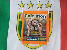 Album Calciatori 2017 2018 panini BUSTINA 4 film campionato C21-C25