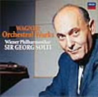 SIR GEORG SOLTI-R. WAGNER - ORCHESTRAL WORKS-JAPAN CD Ltd/Ed C00