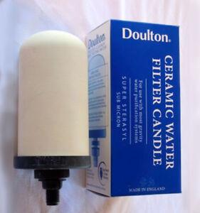 Doulton Super Sterasyl Ceramic Water Filter Cartridge PLUS Stainless Steel Tap