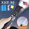 200000LM Led Flashlight Super Bright xhp70 xhp50 XHP90 torch 18650 Rechargeable