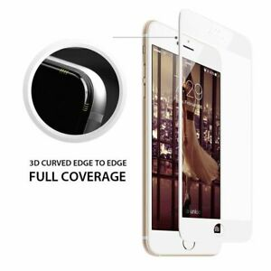 For iPhone 8 / 7 / 6S 6 Plus 5 5S SE - Curved Tempered Glass Screen Protector