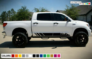 Sticker Graphic Lower Door Stripe Kit for Toyota Tundra 2007 2008 2009 2010 2011