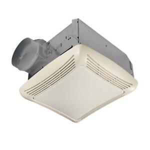 NEW!!  NuTone  50 CFM Ceiling Bathroom Exhaust Fan with Light