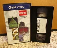 FRONTLINE Looking for Answers 9-11 radical Islamic terrorism Muslim VHS CIA FBI