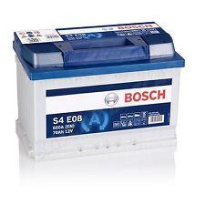 Autobatterie BOSCH  12V 70Ah 650 A/EN EFB S4 E08 EFB 70 Ah TOP ANGEBOT
