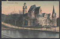 44675) AK Schloß Stein im Erzgebirge 1908 Hartenstein