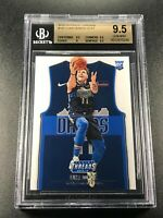 LUKA DONCIC 2018 PANINI THREADS #181 ROOKIE RC BGS 9.5 GEM DALLAS MAVERICKS (D)