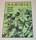 Political Cuban Poster.OSPAAAL Namibia Freedom.1986 ORIGINAL.African history art