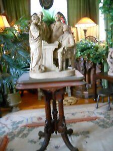 "John Rogers Group  Anti-Slavery Statue ""Fugitive Story"" 1869"