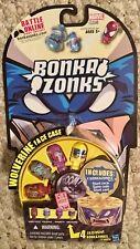 Hasbro 4 Bonka Zonks Figures Marvel Series 1 Wolverine Case 2011 (New)