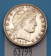 West Point Coins ~ 1916-D Barber Quarter UNC