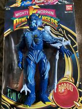 MIGHTY MORPHIN POWER RANGERS Evil Space Aliens Baboo Action Figure Vintage 1993