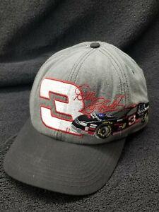 Vintage Dale Earnhardt #3 Adjustable Snapback Hat  - NASCAR Chase Authentics.