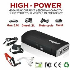 Auto Battery Jump Starter Jumper Power Charger Portable Car Heavy Duty Pack 12v