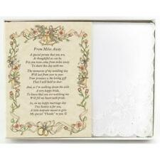 From the Bride to an Out-of-Town Guest Wedding Handkerchief