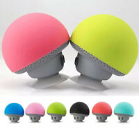 Waterproof Wireless Mini Bluetooth Mushroom Portable Stereo Speaker iPhone ME