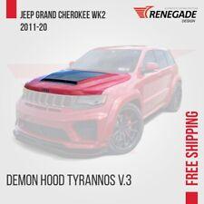 "Demon hood for Jeep Grand Cherokee WK2 SRT Trackhawk 2011-2018 ""Renegade"""