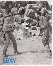 Robert Fuller fights Mickey Finn VINTAGE Photo Incident at Phantom Hill