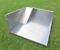 S3 Under Seatbox Tool Box Locker Tray Panel in Aluminium for Land Rover Series 3