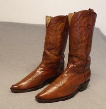 Charlie Horse Western Cowboy Artisan Hand Crafted Leather boots women's 8.5B
