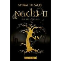 "SUBWAY TO SALLY ""NACKT II"" DVD+CD NEW!"