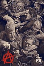 Sons of Anarchy Season 6 FX TV Poster (24x36) - Charlie Hunnam, Katey Sagal NEW