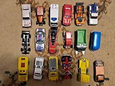 Lot of 18 Loose 1/64 Diecast Cars Trucks Hot Wheels Matchbox