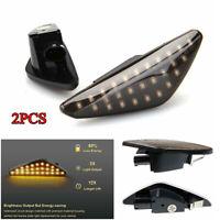 2PCS 3W Amber LED Side Marker Turn Signal Lights For BMW E70 X5 E71 X6 F25 X3